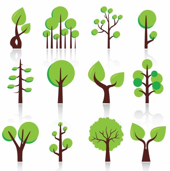 Free Tree Vector Art