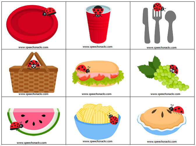 Picnic Food Pictures Cliparts Co