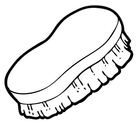 brush clip art cliparts co Toothbrush Clip Art Book Clip Art Black and White