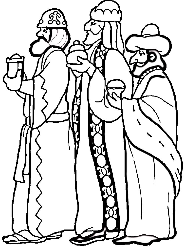 Images Of The Three Wise Men Clipartsco