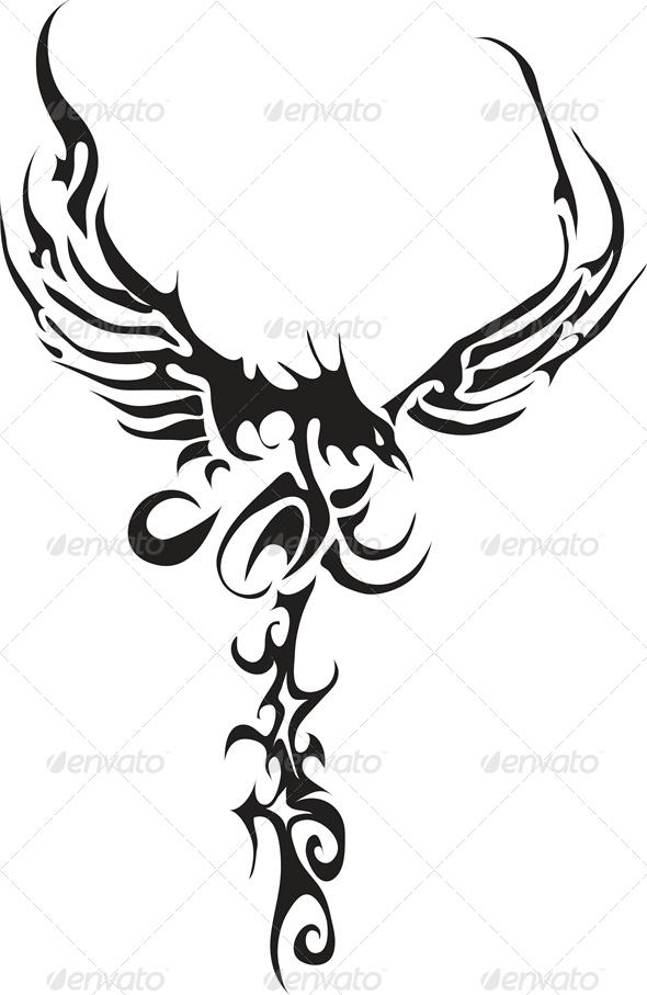 tribal hawk tattoo wwwimgkidcom the image kid has it