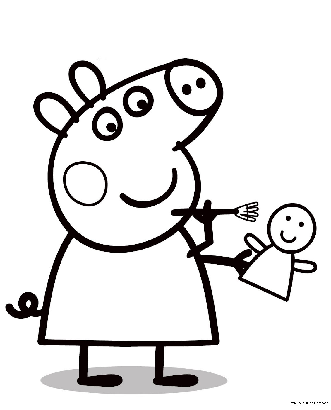 peppa pig clip art cliparts co