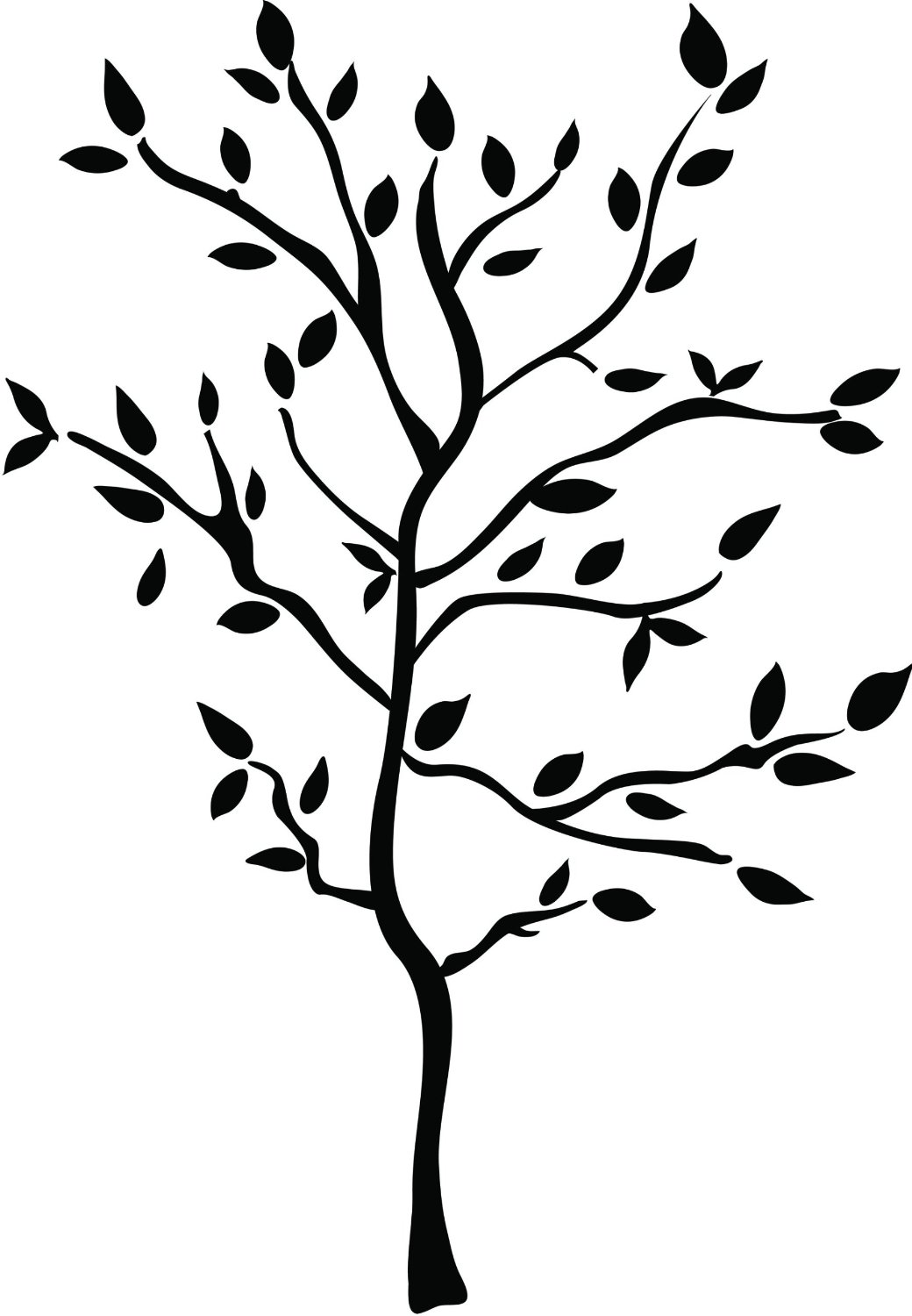 cartoon tree with branches cliparts co