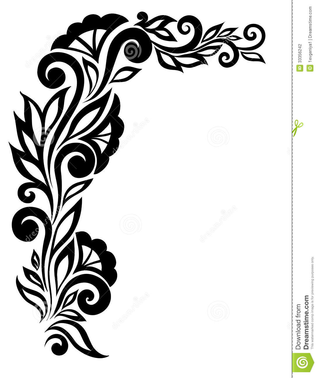 Flower designs black and white - Any design using black and white ...