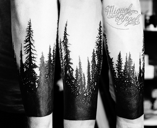 Flickriver: Miguel Angel tattoo's photos tagged with tree