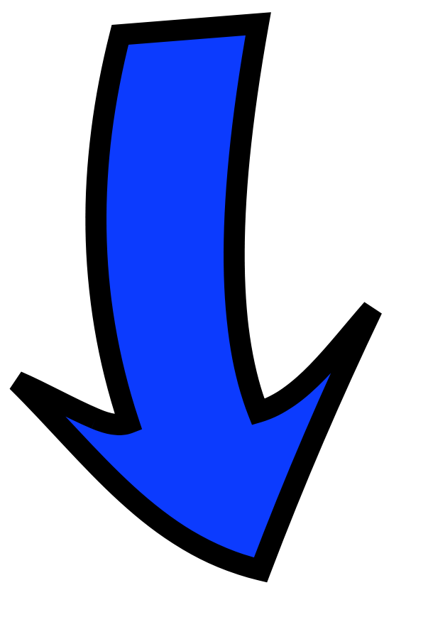 One-Direction Large Arrow, Silhouette | ClipArt ETC