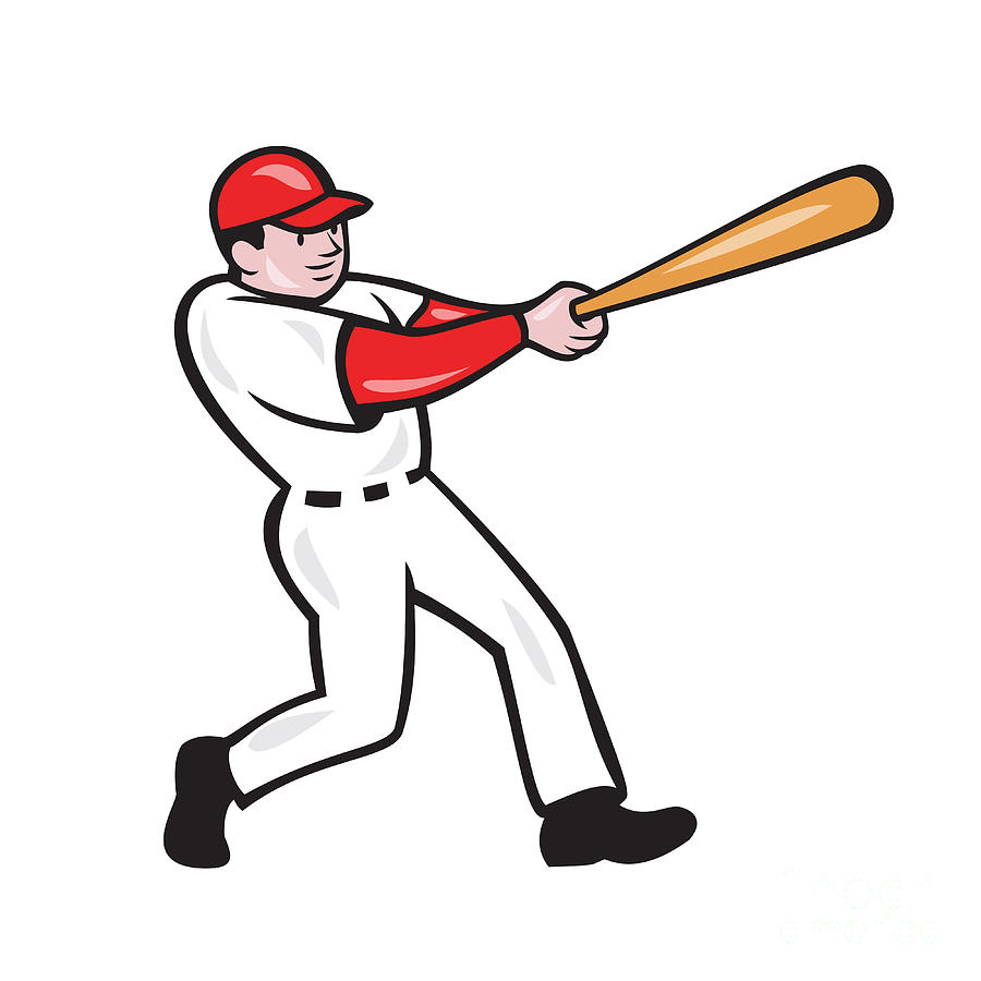 free clipart of a baseball player - photo #50