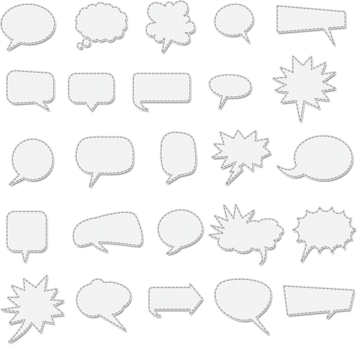 printable thought bubbles