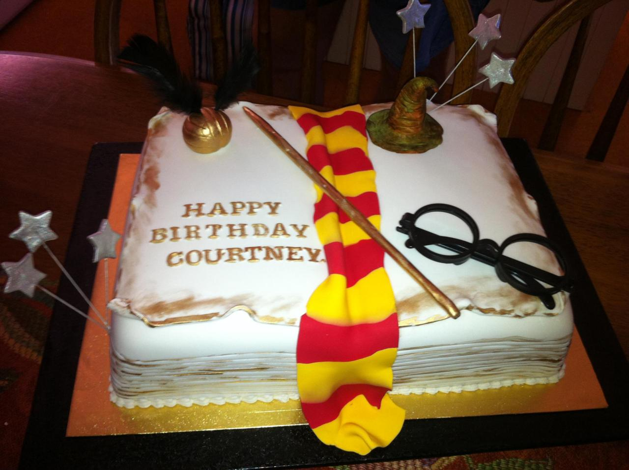 Group of Harry Potter Tumblr Cake