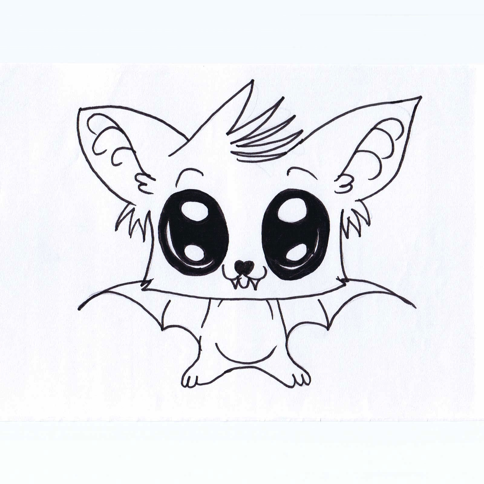 Cute Animal Drawings - Cliparts.co