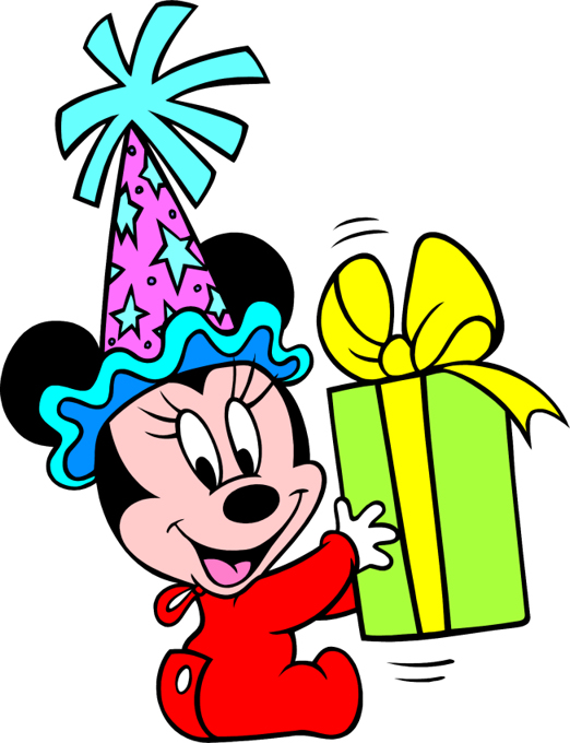 Mickey Mouse 1st Birthday Clipart | Clipart Panda - Free Clipart ...