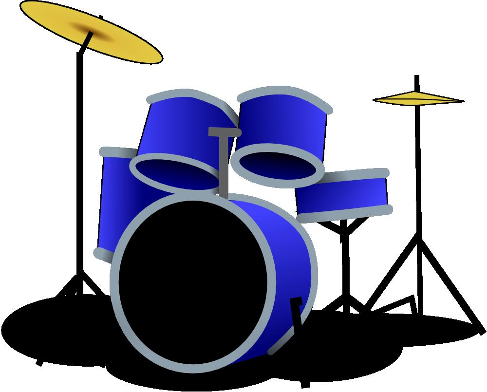 Drum Set Art - Cliparts.co