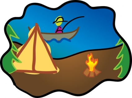 Free Camping Clipart Cliparts Co