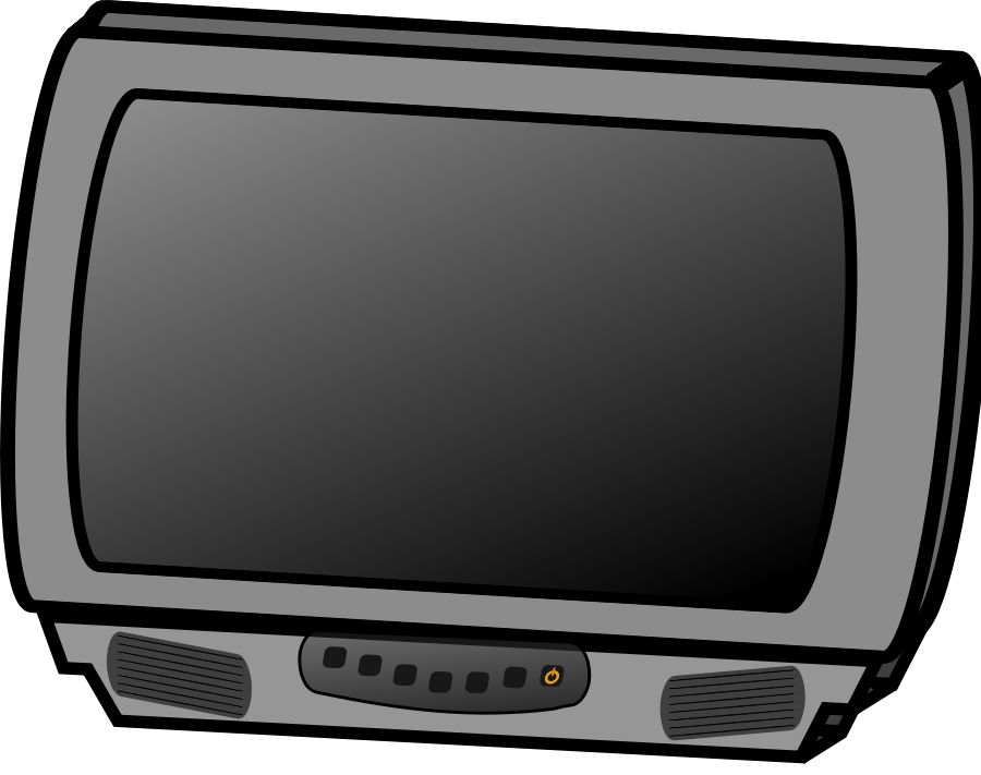 Television Clipart, vector clip art online, royalty free design ...
