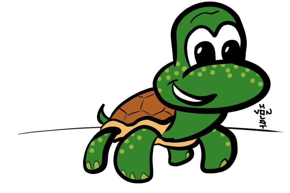 Cute baby turtles drawings