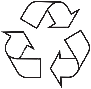 Recycling Symbol Outline Clip Art Vector Clip Art Online Royalty ...