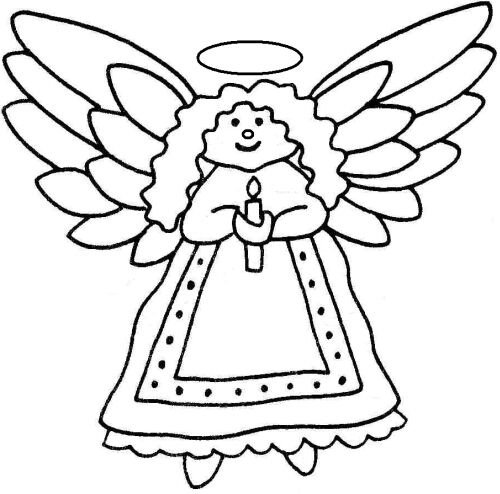Christmas Angels Clipart - ClipArt Best
