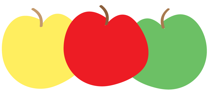 Free Apple Clipart and printables for art projects, teachers, and ...