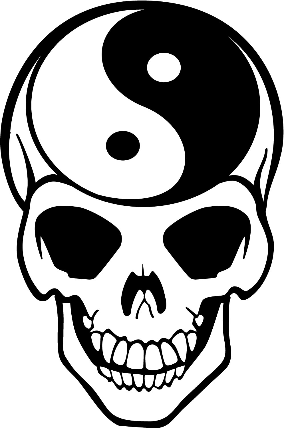 Skull Vector Art - ClipArt Best