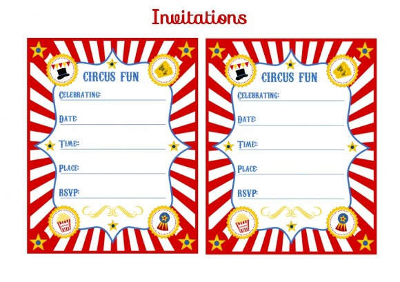 Circus Ticket Template - Cliparts.co