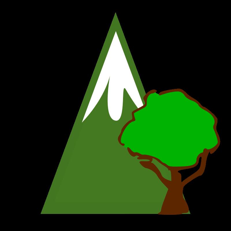 Green Mountain Clip Art