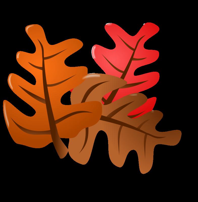 orange leaf clip art - photo #37
