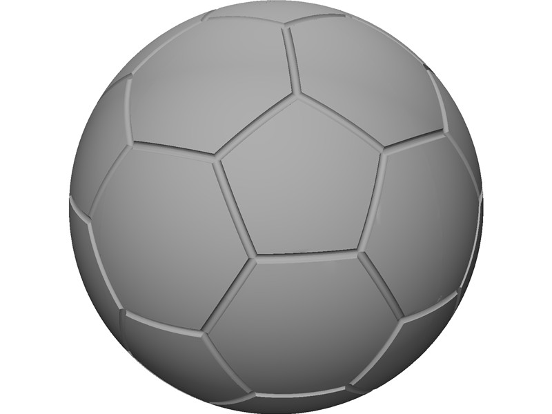 Soccer Ball 3D CAD Model Download | 3D CAD Browser