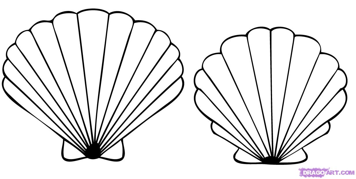 Seashell Tattoo Designs - Cliparts.co