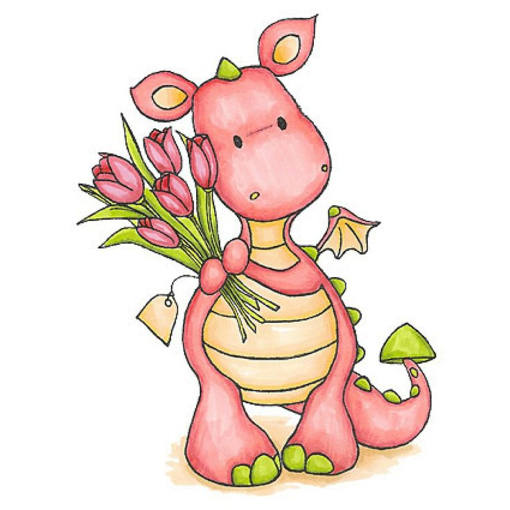 Cute Dragon Clip Art - Cliparts.co