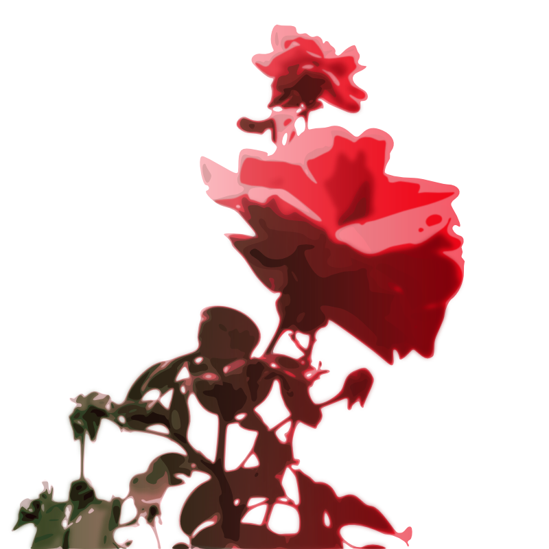 Clipart - roses