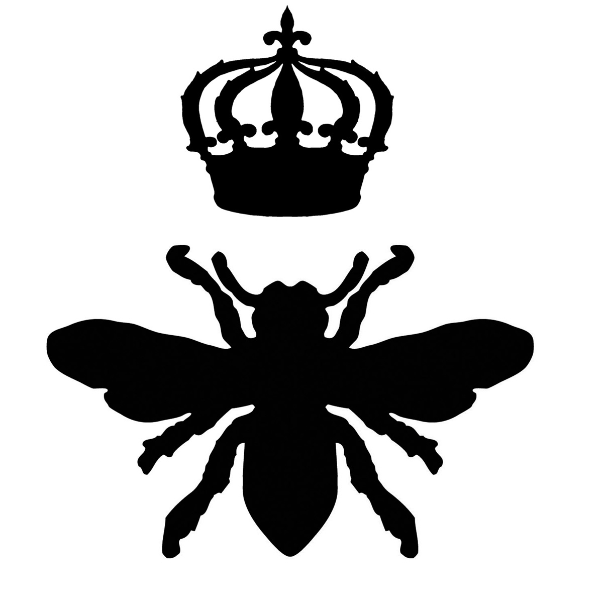 Queen Bee Iron on Transfer   Headboard Video - The Graphics Fairy    Queen Bee Logo