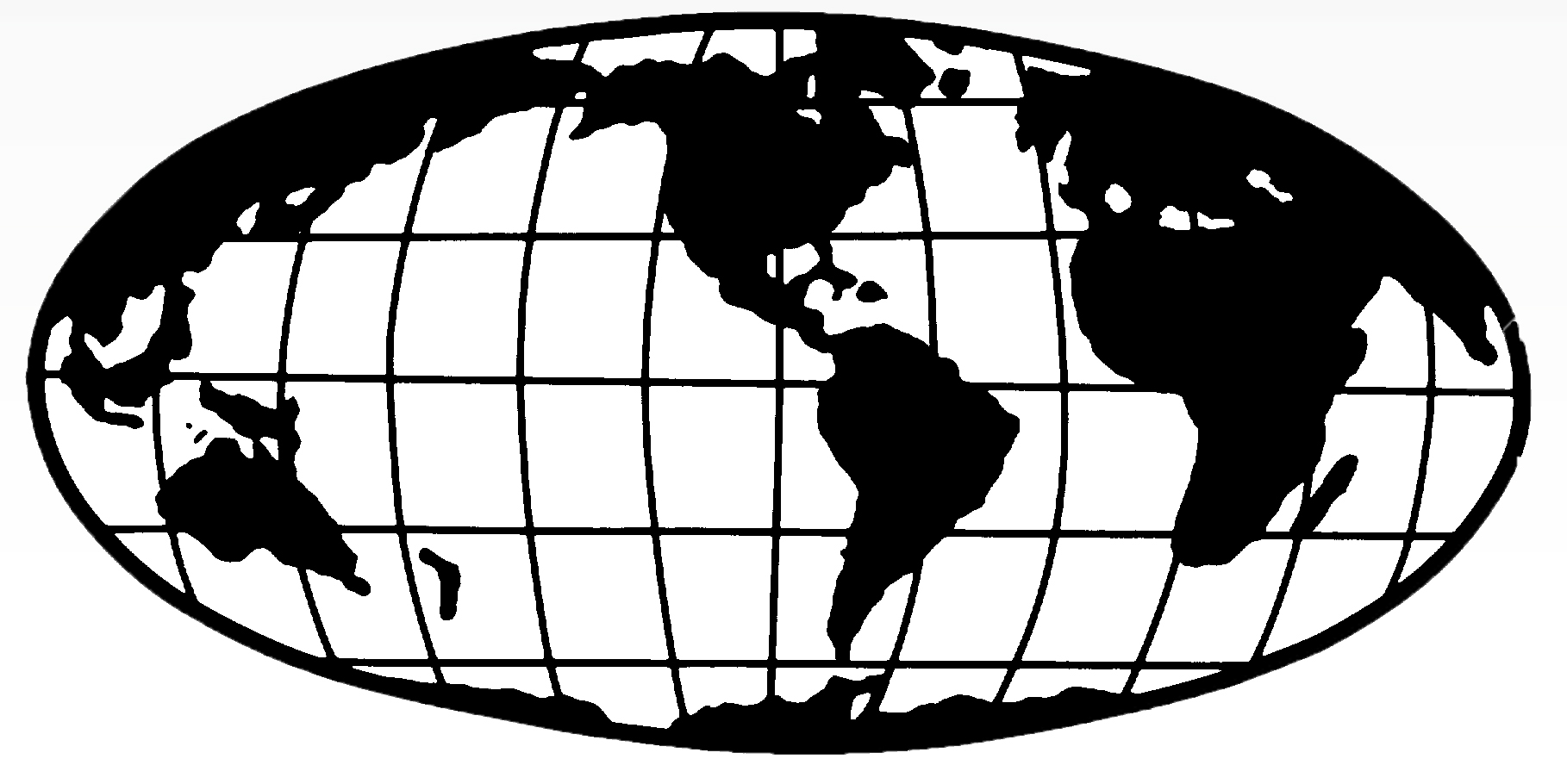 Line Drawing Earth : Globe line art cliparts