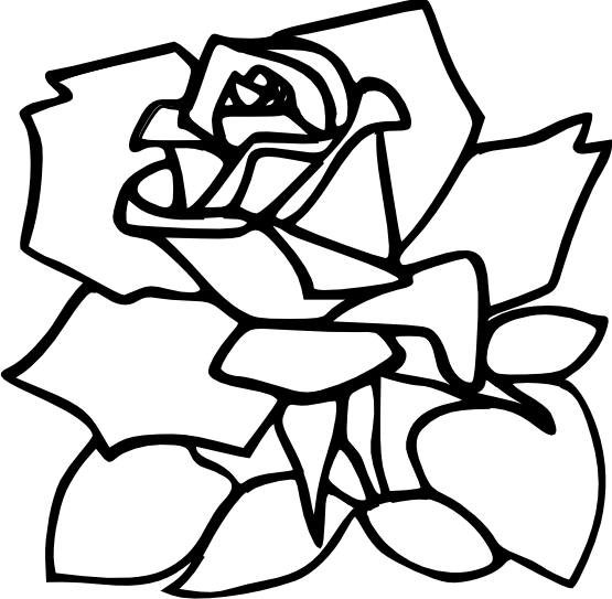 Black And White Flower Tattoos - Cliparts.co