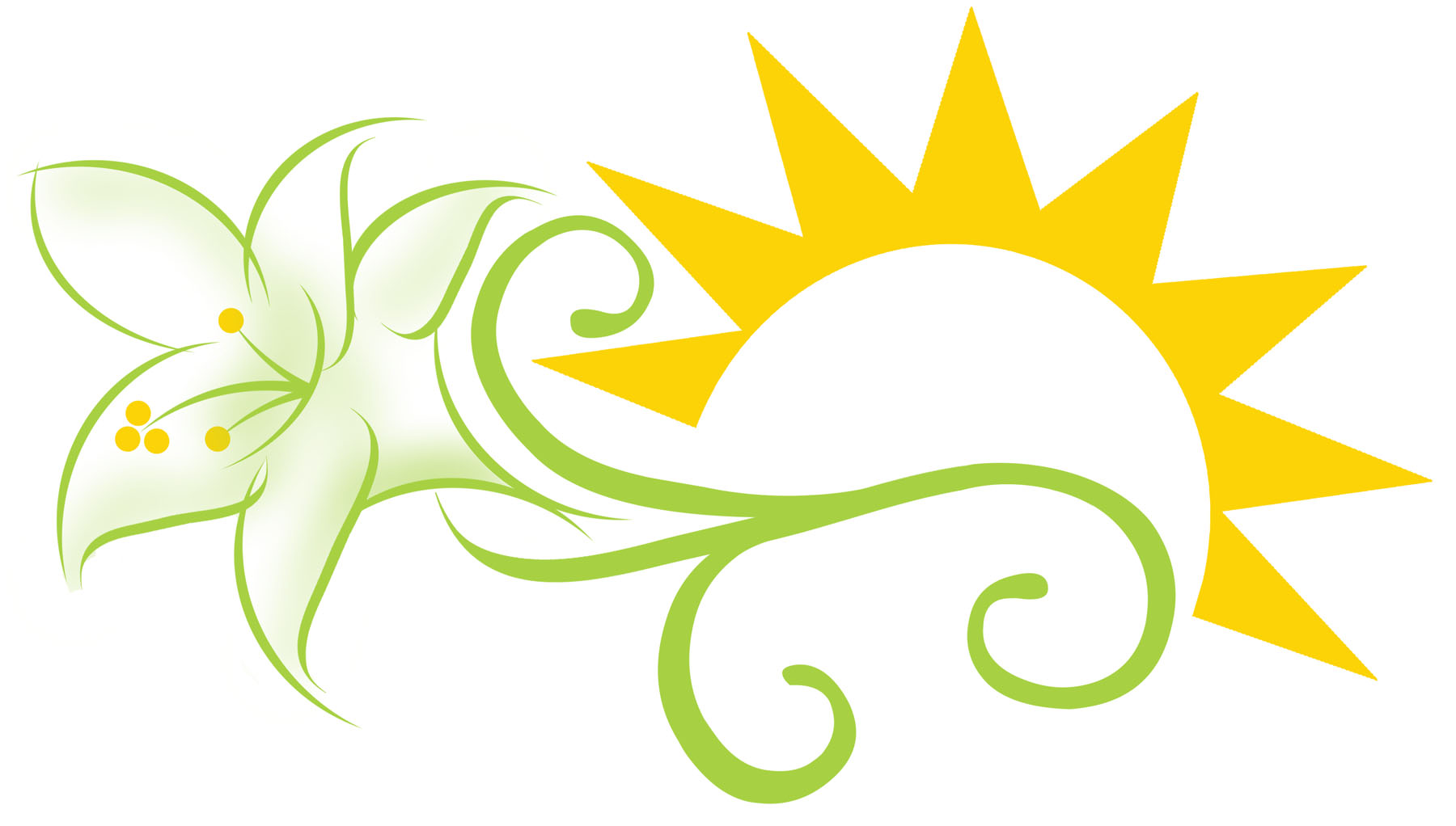 easter lilies free clipart - photo #1