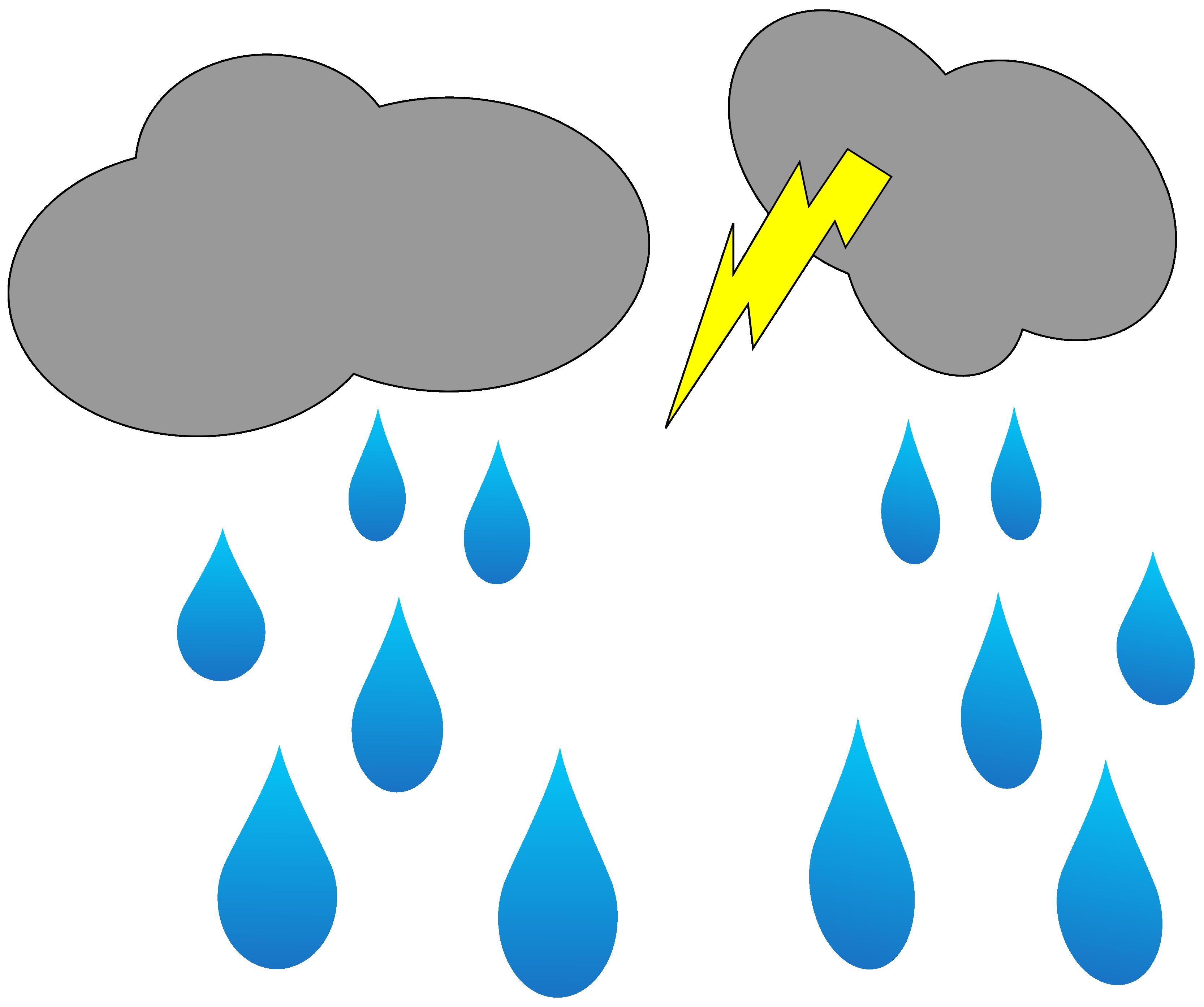 Clip Art: Lightning Rain Cloud Blog ClipArt Clip ... - ClipArt ...