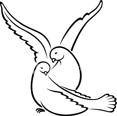Wedding Dove Clipart - Cliparts.co