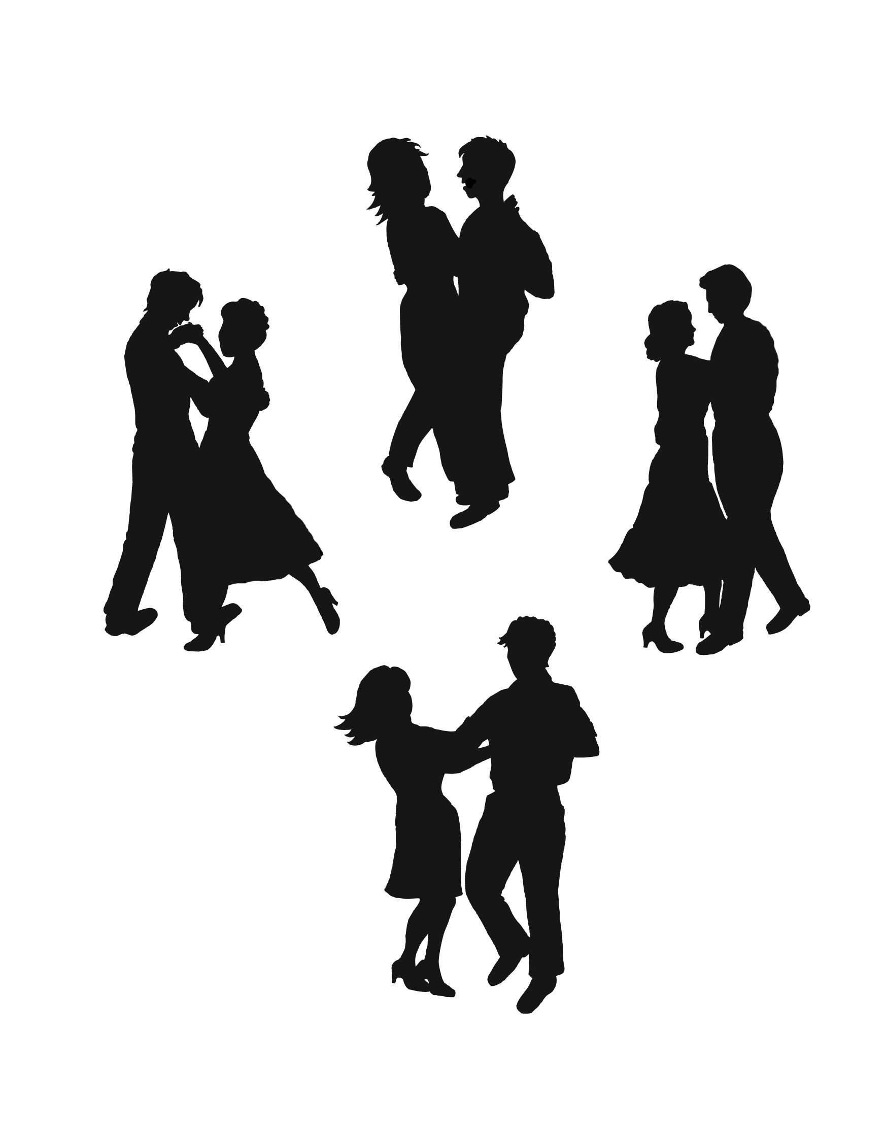 Clip Art Dancing - Cliparts.co