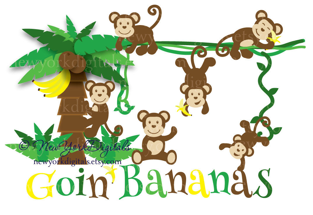 Images For > Clip Art Banana Tree