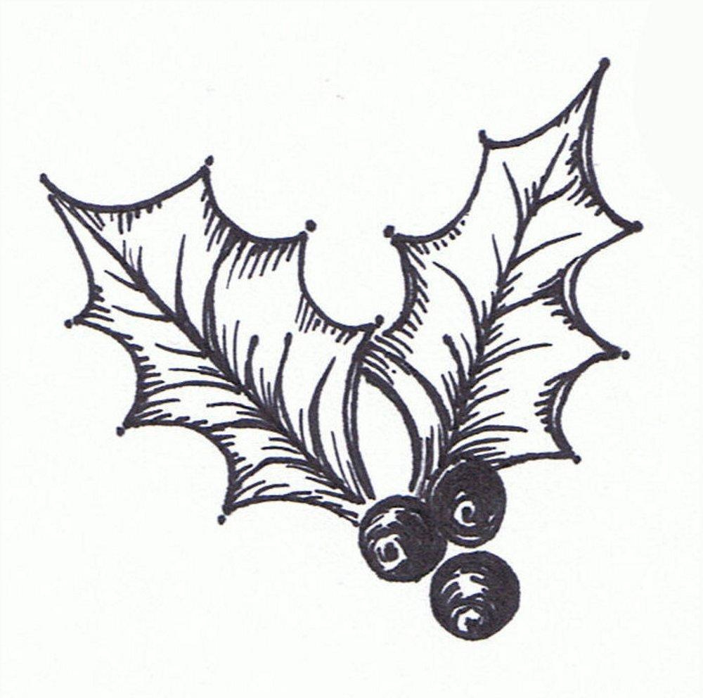 Free Christmas Clip Art Holly Leaf | School Clipart