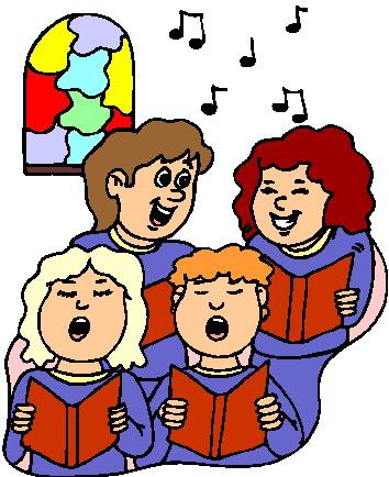 church singers clipart - photo #4