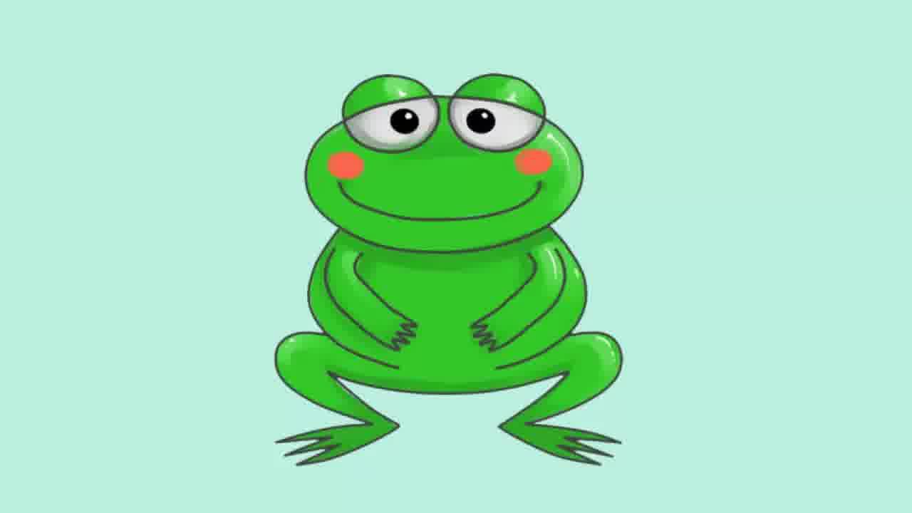 Cartoon Frog Face - Cliparts.co