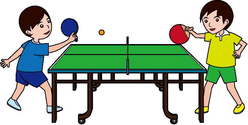 Ping pong clip art - Friendship tennis de table ...