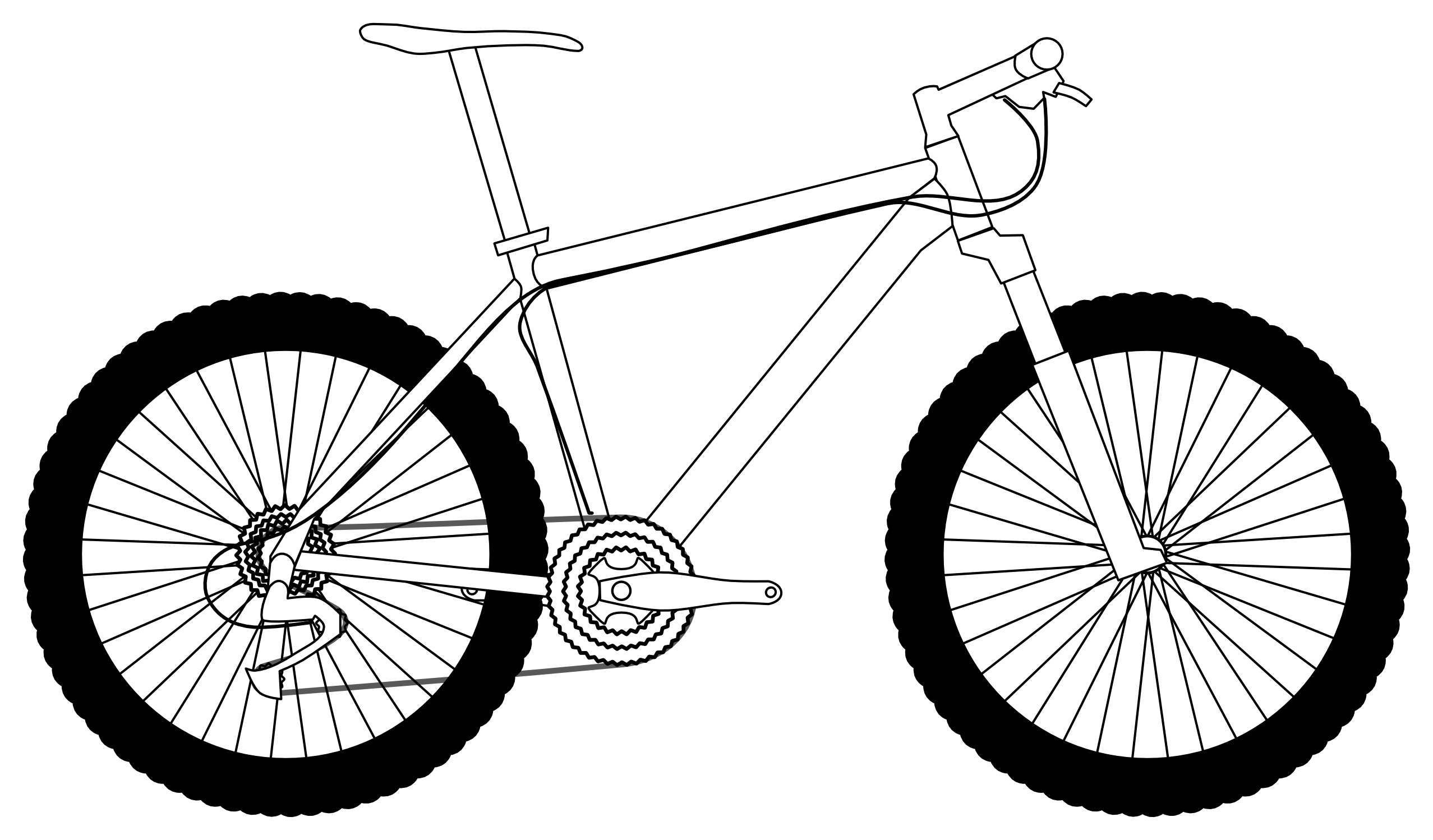 picture of a bike cliparts co free clipart mountain range free mountain clipart black and white