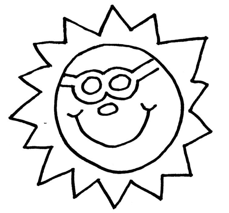 Line Art Sun : Sun outline clip art cliparts