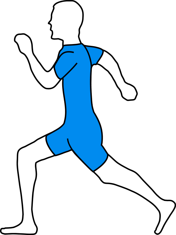 man jogging clipart - photo #6