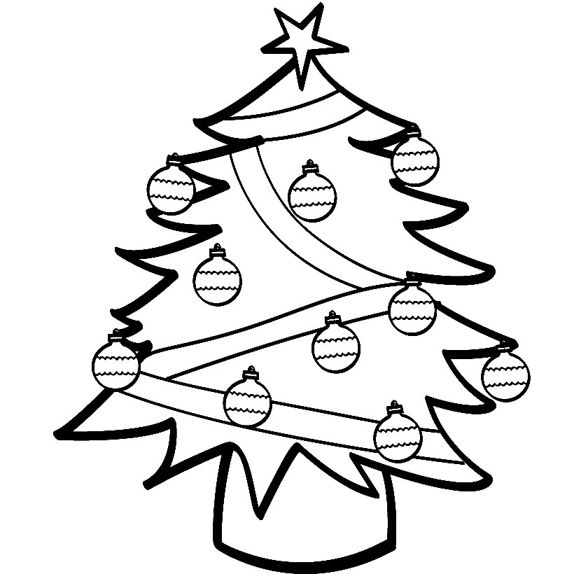 tree line coloring pages - photo#17