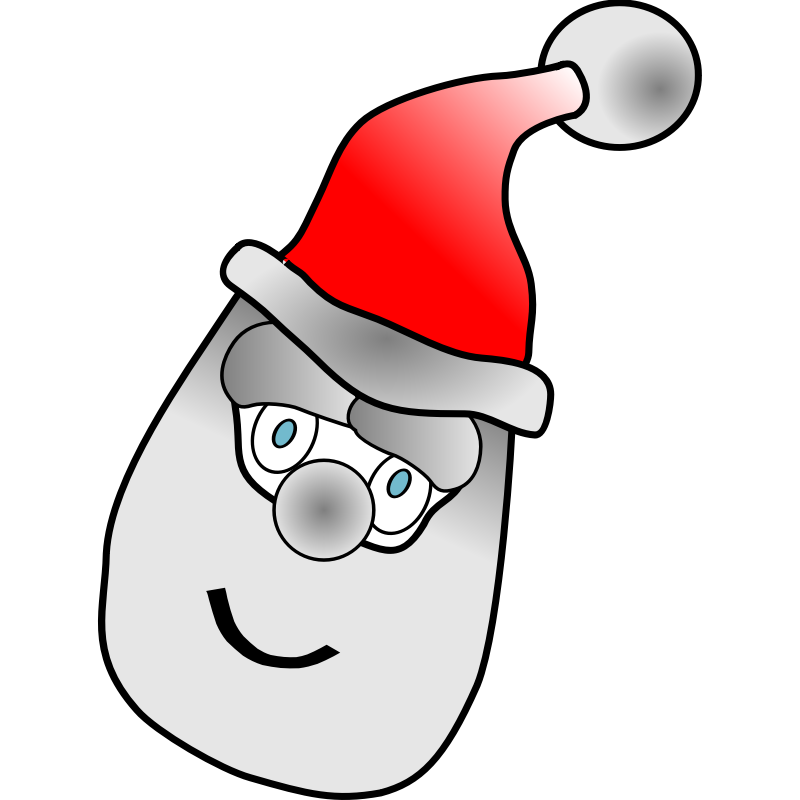 Clipart - father christmas