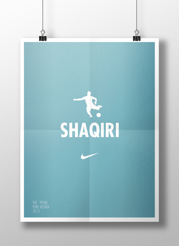 Xherdan Shaqiri on Behance
