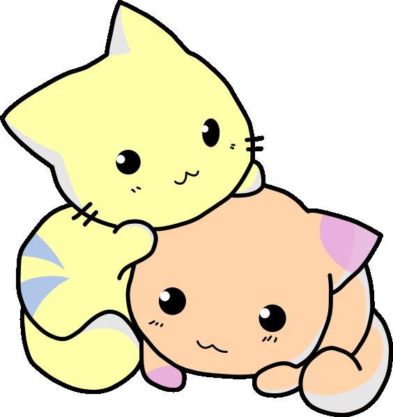 Cute Cat Cartoon - Cliparts.co