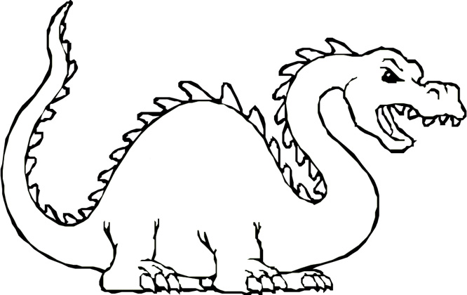 - Kids Dragons Coloring Book Pages